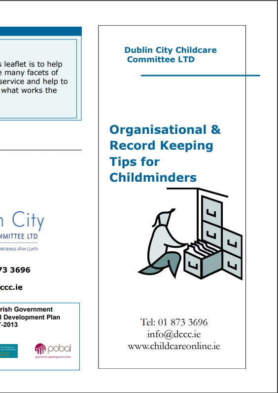 Organisational and Record Keeping Tips for Childminders