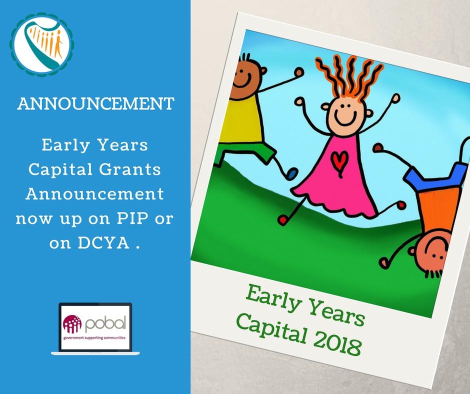 Early Years Grants 2018