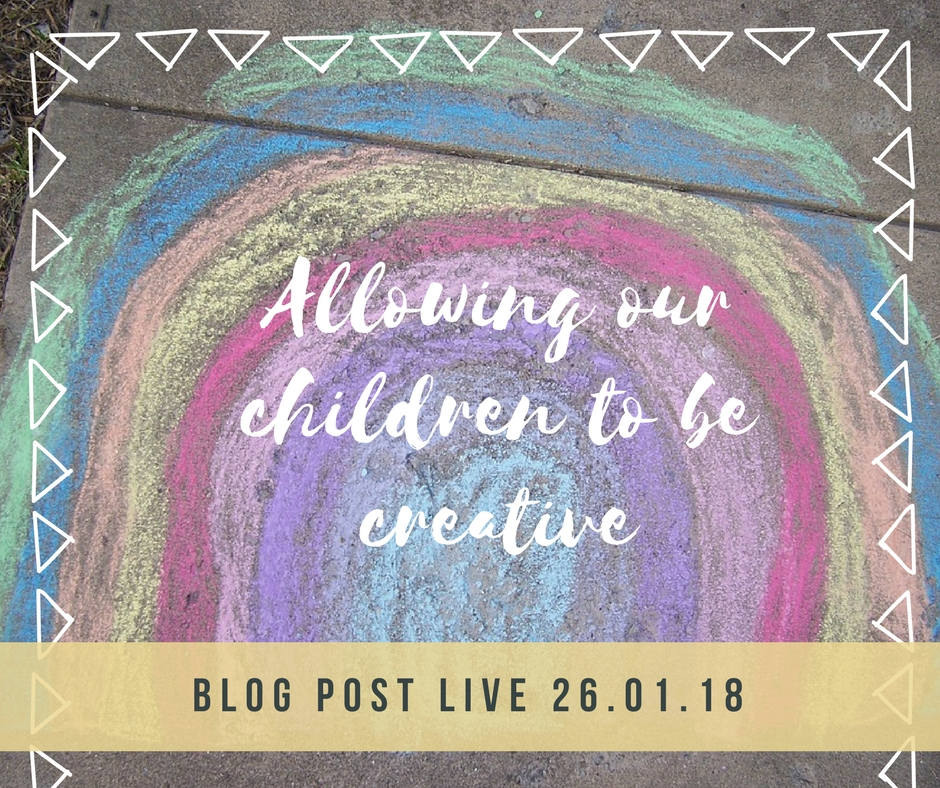 Allowing our children to be creative
