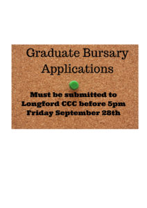 Graduate Bursary Applications