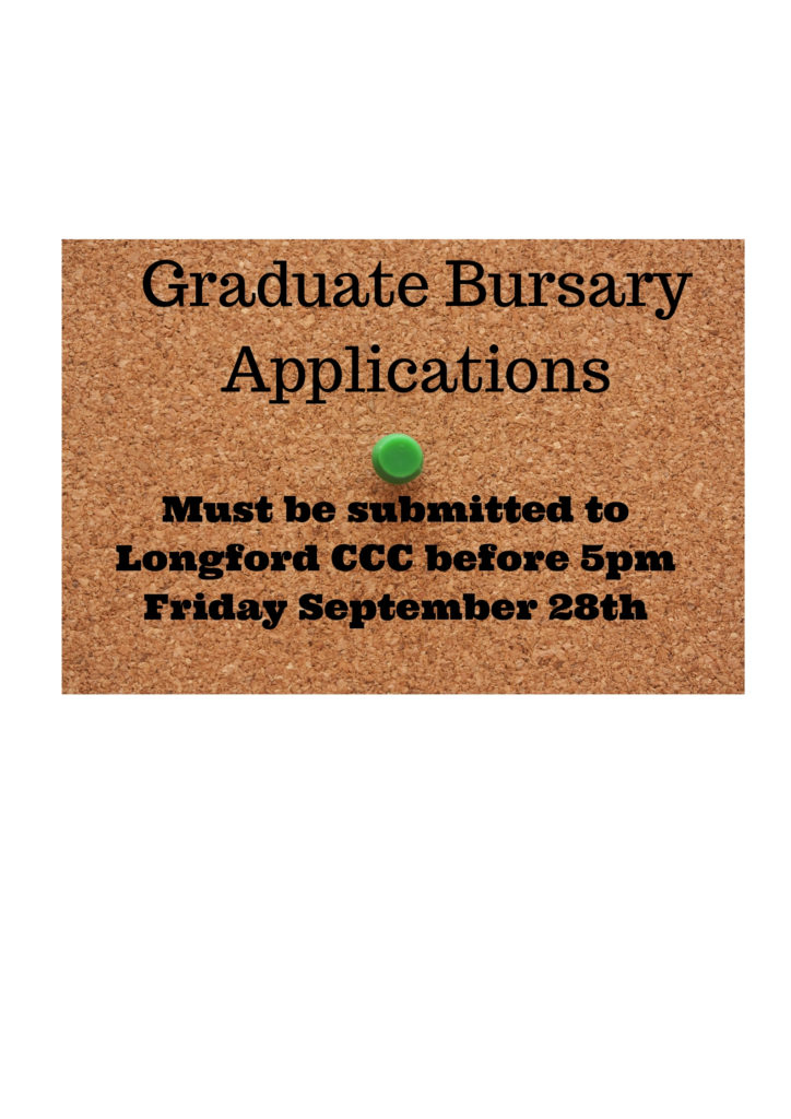 Graduate Bursary Applications