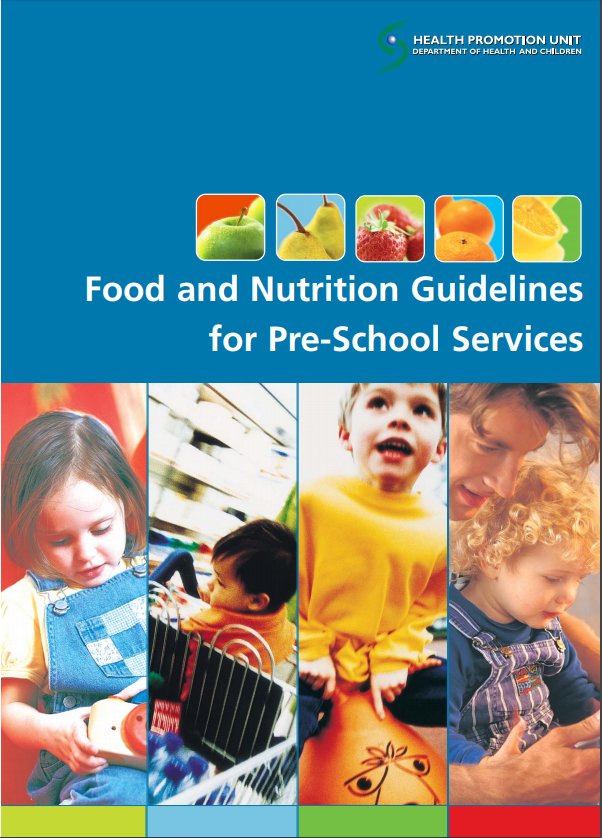 Food and Nutrition Guidelines for Pre-school Services