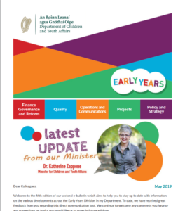 E-Bulletin DCYA Early Years Division