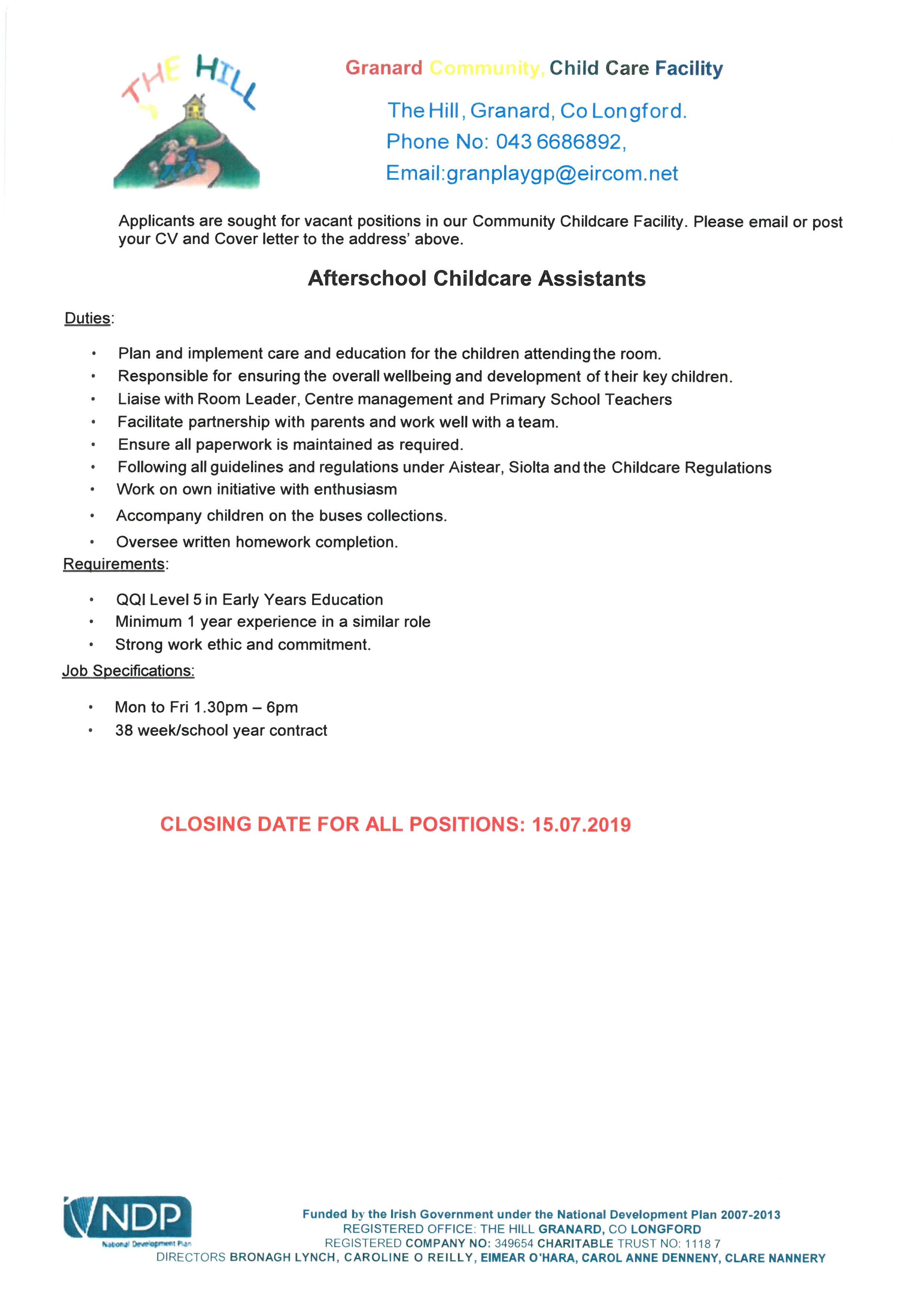 Granard Com  Childcare - Longford Childcare Committee