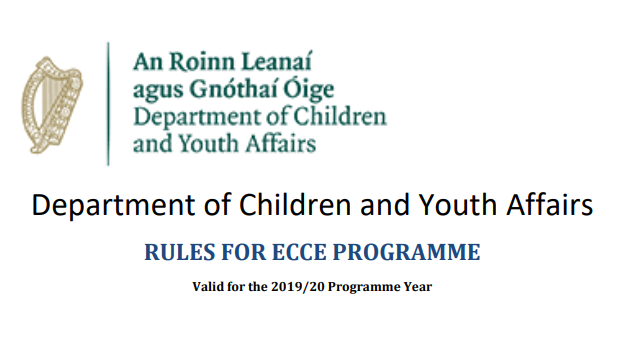 Rules for ECCE Programmes 2019-2020