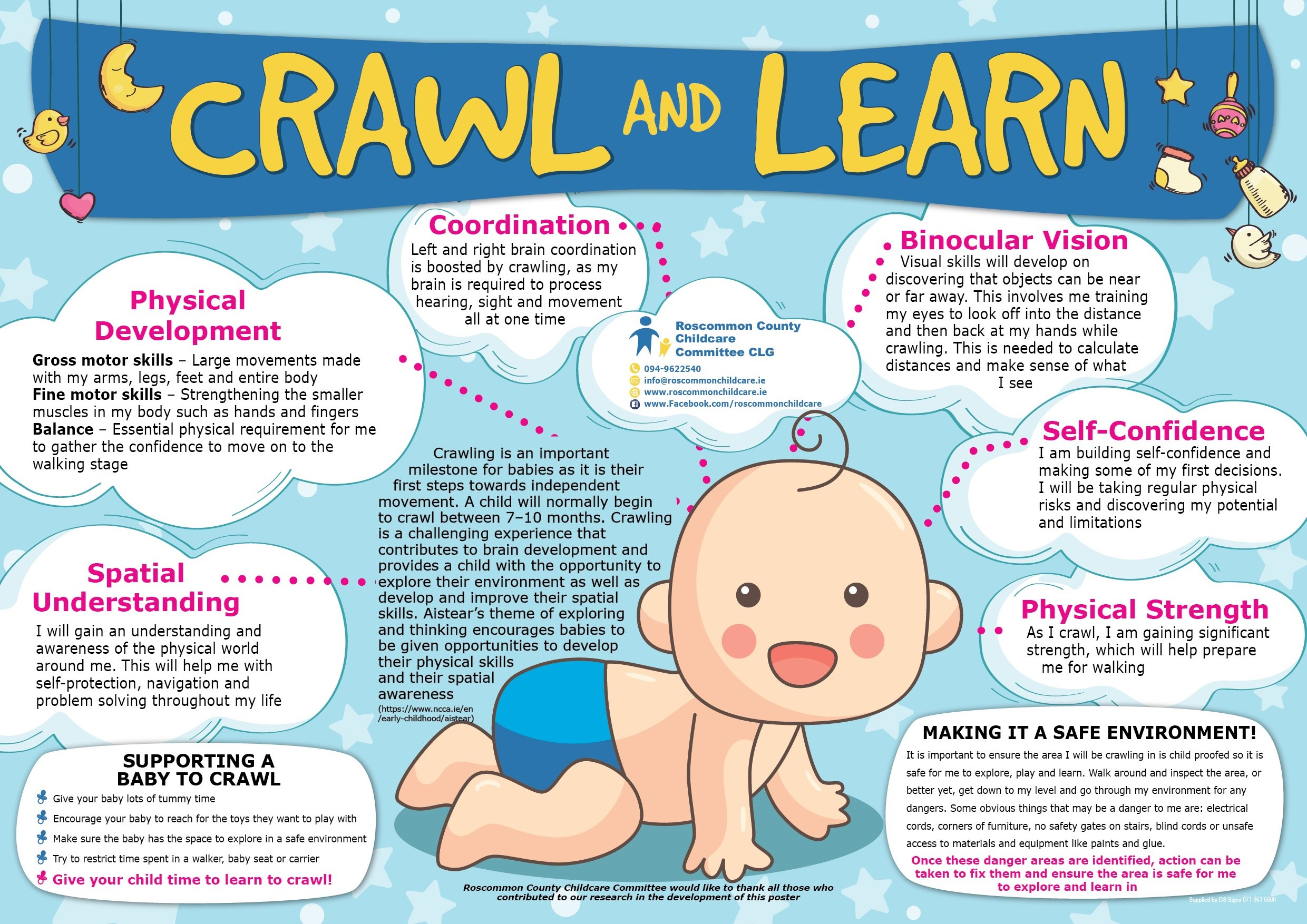 Crawl and Learn