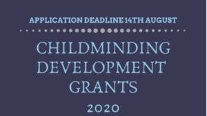 Childminding Dev Grants 2020
