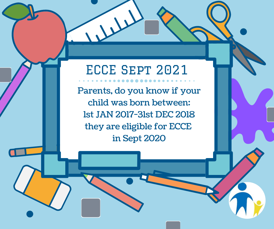 ECCE SEPT 21 eligibility dates