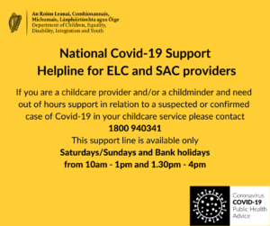 EY Covid Support flyer