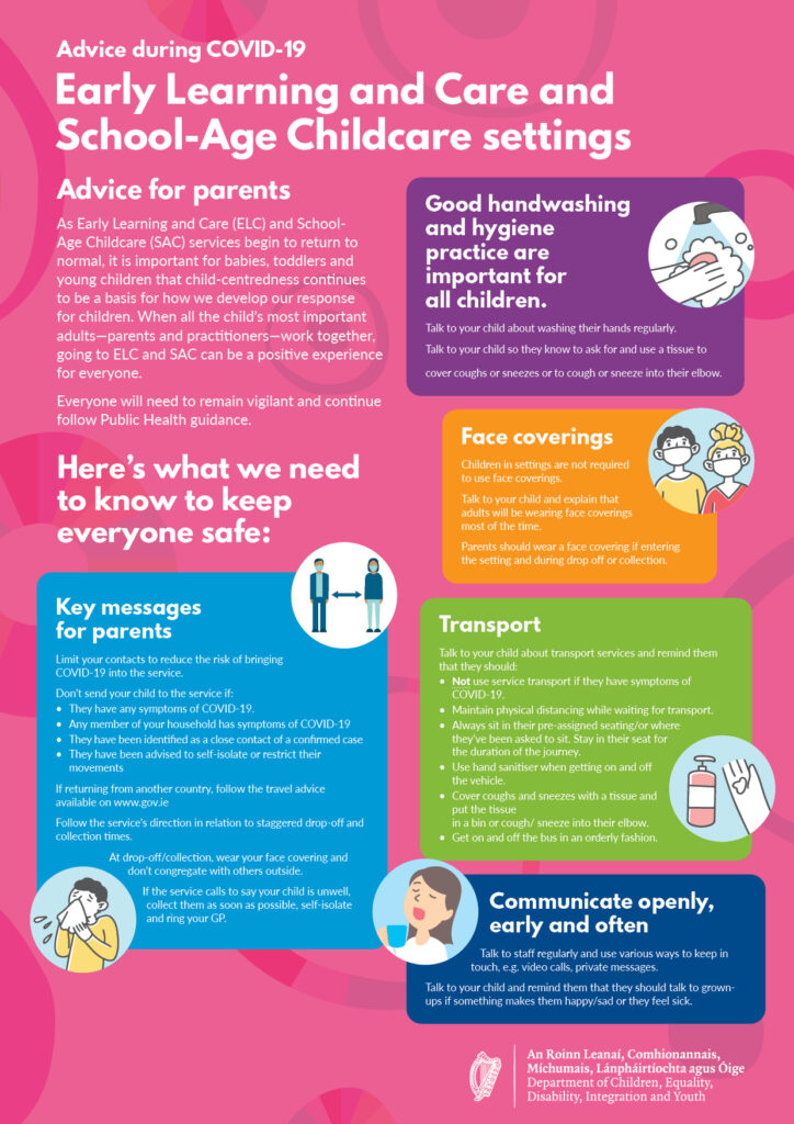 Advice for Parents poster