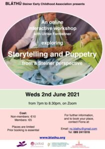 Storytelling & Puppetry CPd