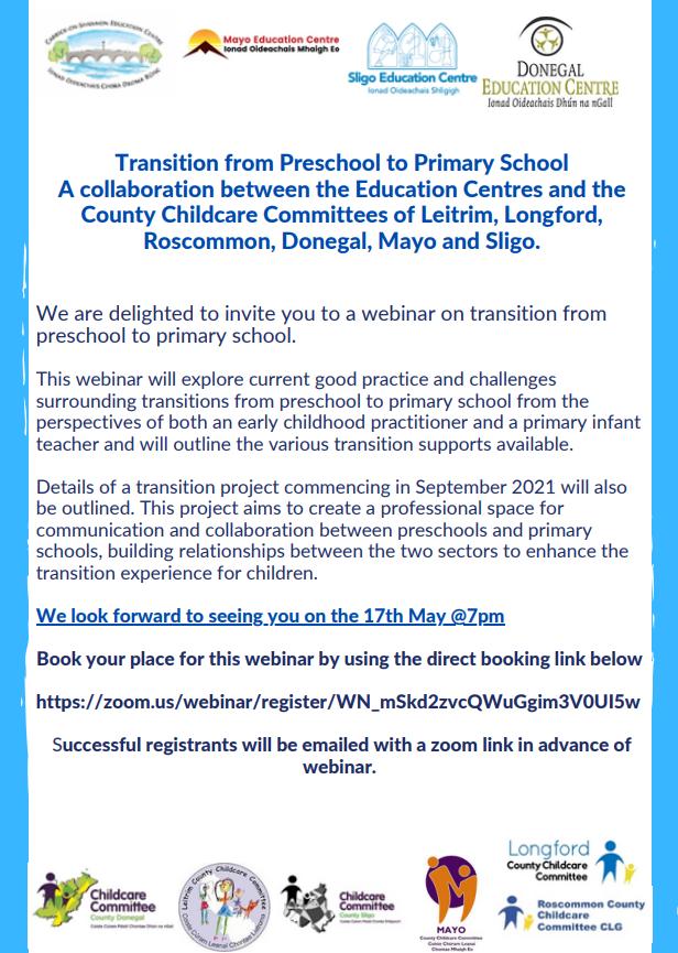 Transition webinar