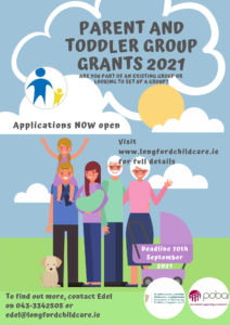 Parent and Toddler Grants 2021