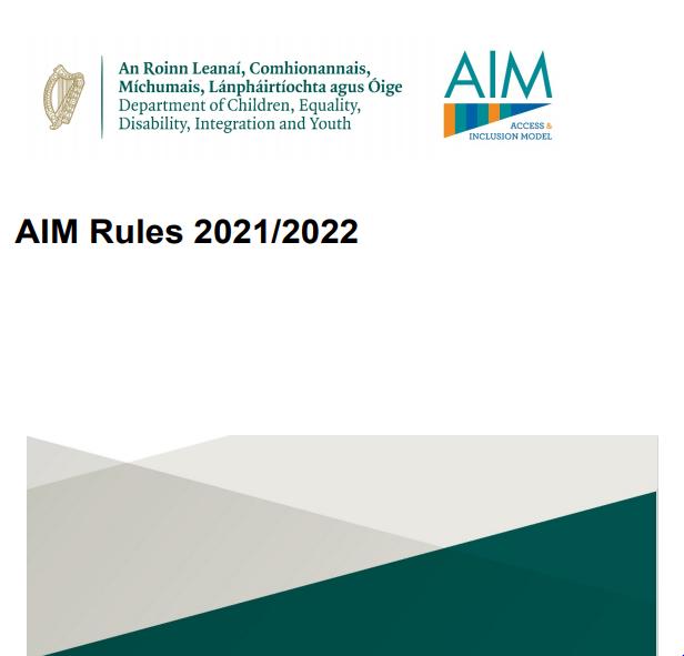 AIM Rules 2021-2022