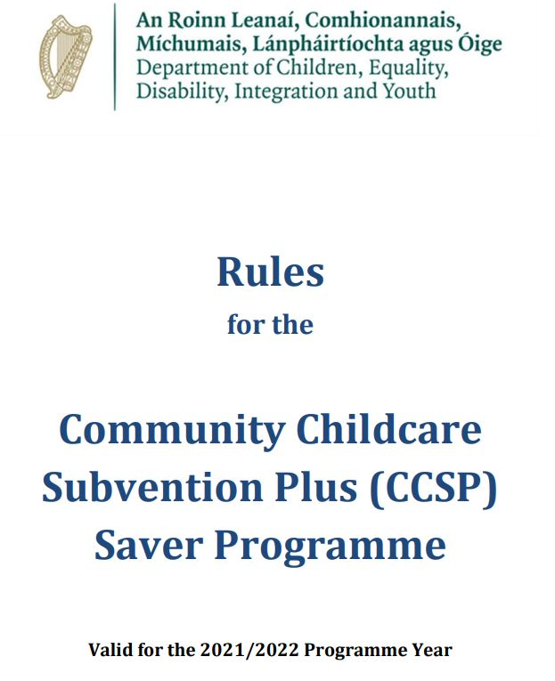 CCSP Rules for 2021-2022