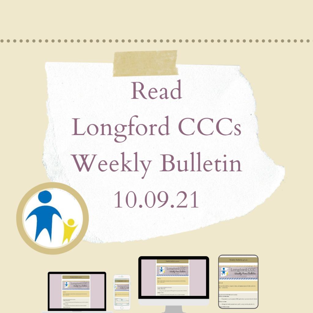 weekly bulletin social media post 10.09.21