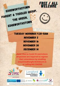 Edgeworthstown parent & Toddler Group